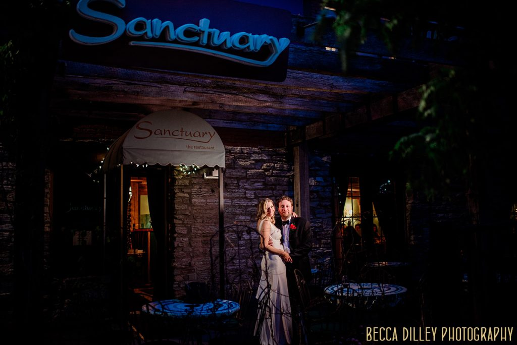 Sanctuary restaurant wedding Minneapolis