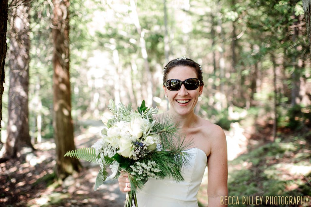 sunglasses A destination wedding by Acadia National Park in Maine