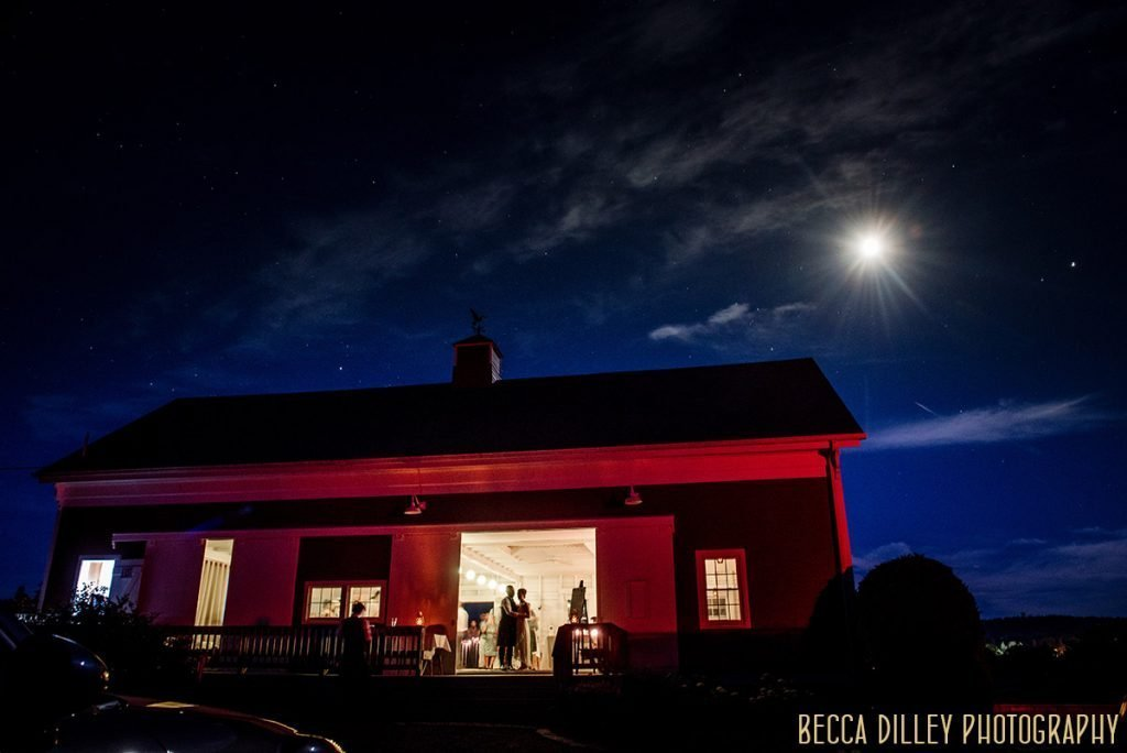 stars at night for destination wedding by Acadia National Park in Maine