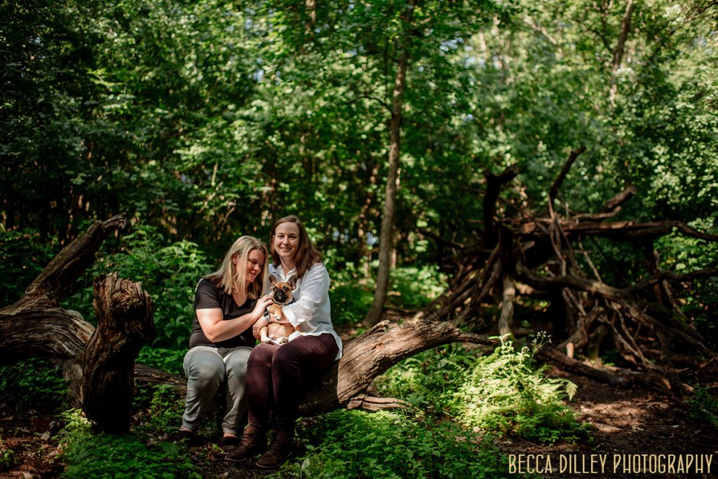 Richardson Nature Center engagement photos
