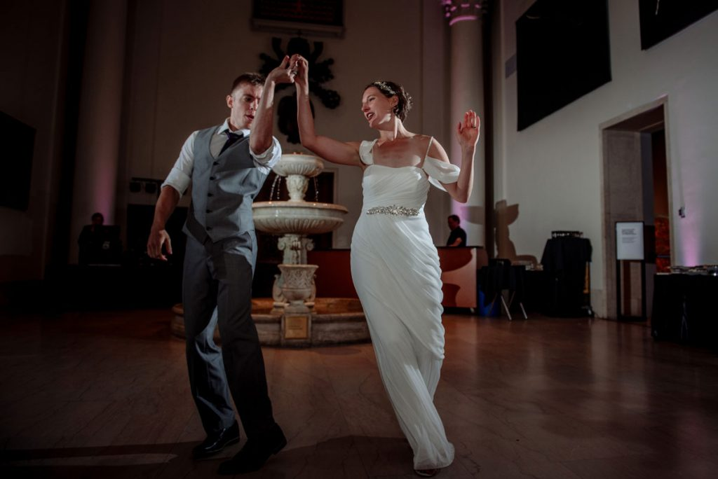 first dance at Minneapolis Institute of Art