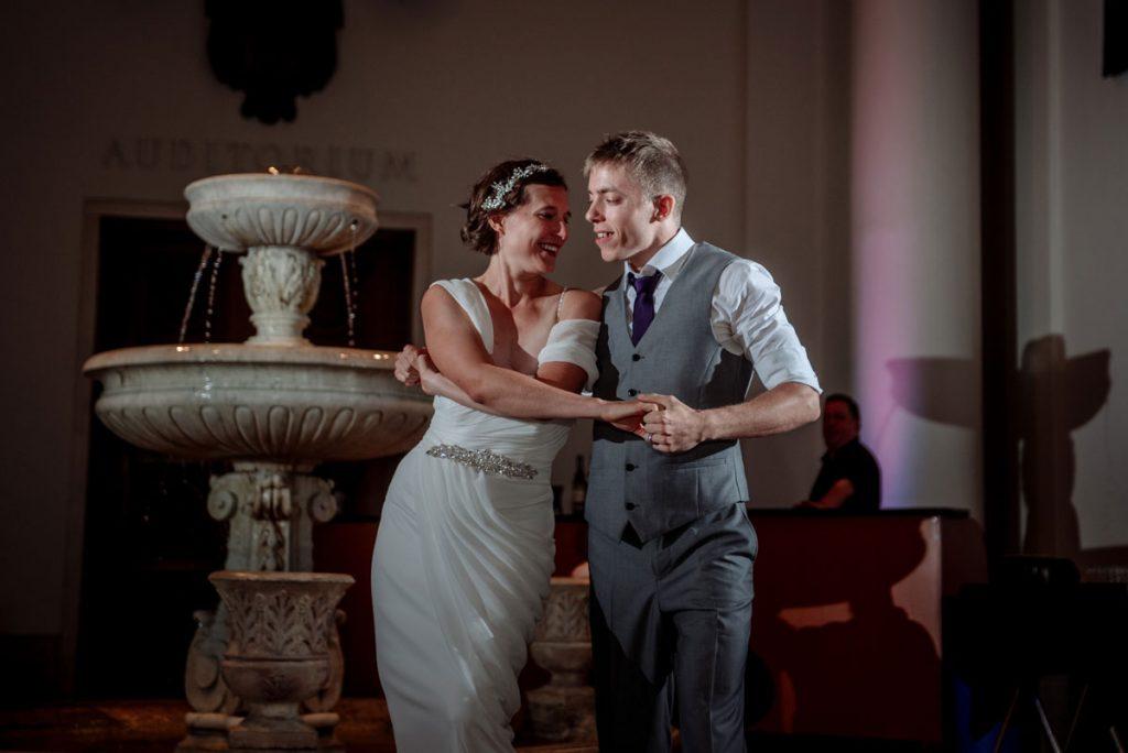 dancing at Minneapolis Institute of Art wedding